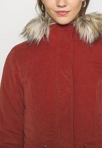 ONLY - ONLNEWLUCCA JACKET - Zimní kabát - fired brick - 5