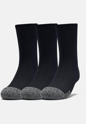 Youth Heatgear Crew - Sports socks - Black