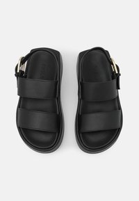Furla - REAL FUSBET - Sandály na platformě - nero/pergamena - 3