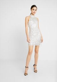 Lace & Beads - NADIA MINI - Cocktail dress / Party dress - silver - 2