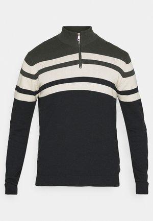 ONSNISTOPH LIFE ZIP - Sweter - peat