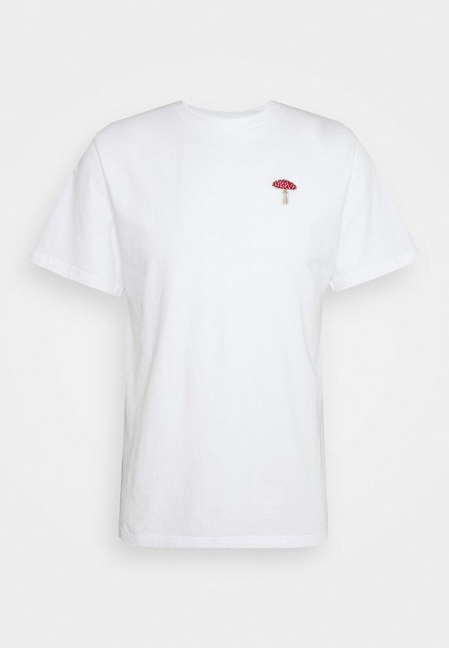 MUSH - Print T-shirt - white