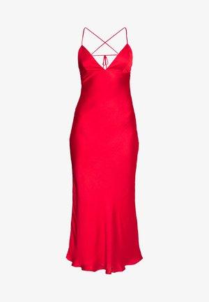 JASSIE SLIP DRESS - Korte jurk - fire red