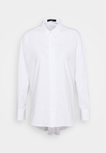 EVE FANCY BLOUSE - Button-down blouse - white