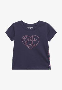 Blue Seven - T-shirt con stampa - dunkel blau - 2