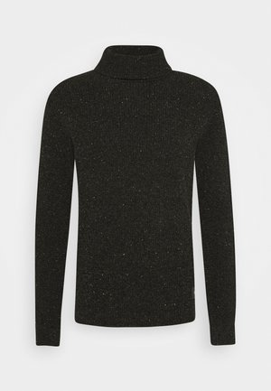 CHENILLE TURTLENECK PULL - Jumper - fern