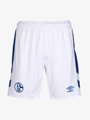 FC SCHALKE - Tracksuit bottoms - blau / weiß