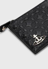 Vivienne Westwood - GEORGE CARD HOLDER WITH ZIP UNISEX - Wallet - black - 3