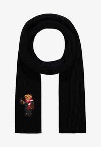 Polo Ralph Lauren - BEAR SCARF - Schal - black - 0