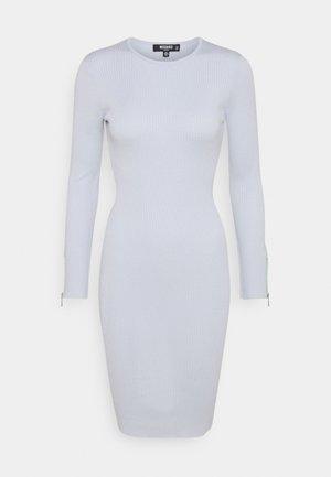 ZIP DETAIL MIDI DRESS - Day dress - blue