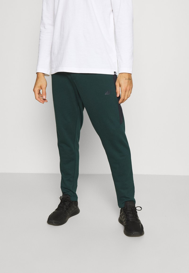 4F - Men's sweatpants - Tracksuit bottoms - dark green