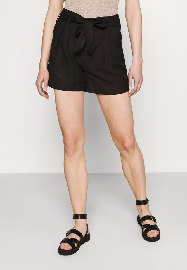 ONLVIVA LIFE BELT - Shorts - black