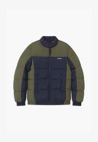 Jack & Jones Junior - JORSPECTOR PUFFER - Zimní bunda - navy blazer - 0