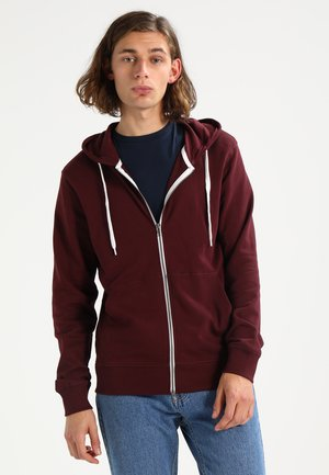 JORHOLMEN  - Zip-up hoodie - port royale