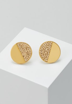 PAVE STUDS - Náušnice - light colorado