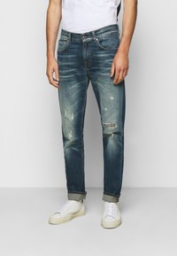 7 for all mankind - SLIMMY GUARD  - Jeans Tapered Fit - dark blue - 0