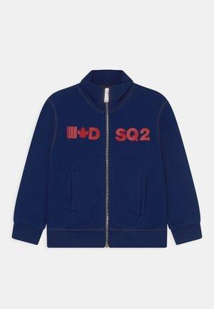UNISEX - Zip-up sweatshirt - blue