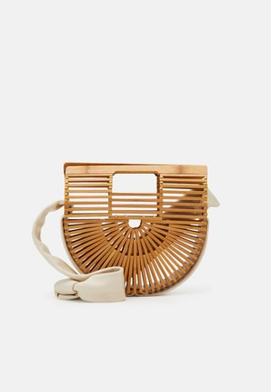 GAIAS STRAP MINI SHOULDER - Handbag - light brown