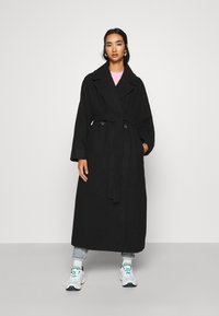 Weekday - KIA BLEND COAT - Mantel - black - 1