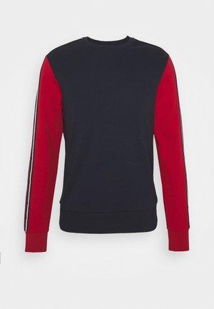 CONTRAST CREWNECK - Sweatshirt - dark midnight
