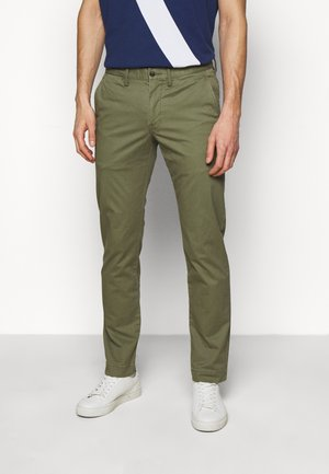 BEDFORD PANT - Chino - army olive