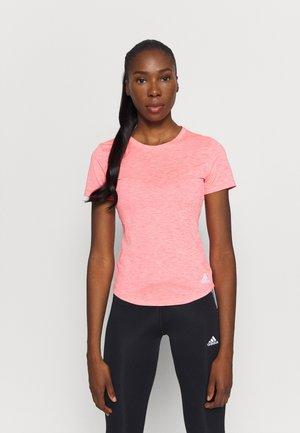 TEE - T-shirts - pink