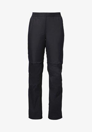 Trousers - black uni