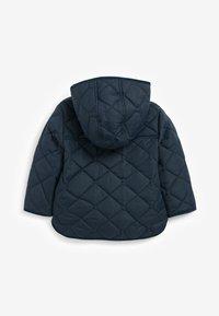 Next - SMART QUILTED  - Light jacket - dark blue - 1