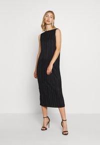 Weekday - IZAR DRESS - Vestito elegante - black - 1