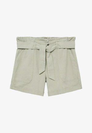 Denim shorts - wassergrün