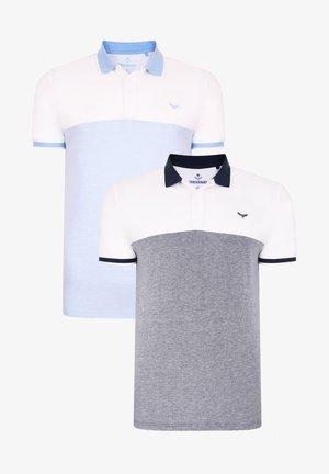 2ER PACK - Koszulka polo - mehrfarbig