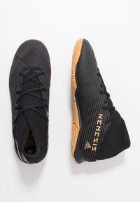 adidas Performance - NEMEZIZ 19.3 IN - Indendørs fodboldstøvler - core black/utility black - 1