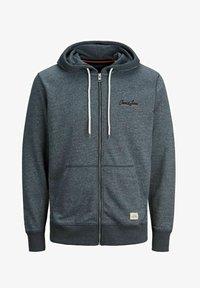 Jack & Jones - Sweater met rits - navy blazer - 4