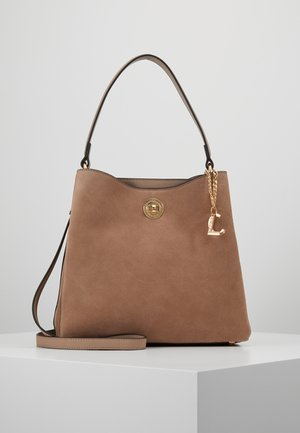 DALINA - Handbag - taupe