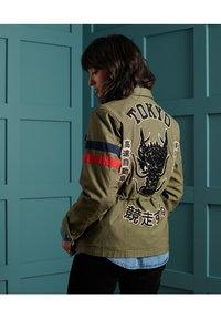 Superdry - VARSITY ROOKIE  - Summer jacket - khaki - 1