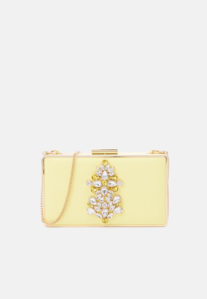 Forever New - ISABEL EMBELLISHED FRAME CLUTCH - Clutch - yellow