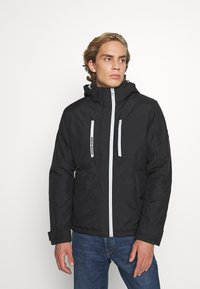 Jack & Jones - JCOBANNER JACKET - Light jacket - black - 0