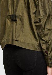 Diesel - C-CORAL - Summer jacket - military green - 4