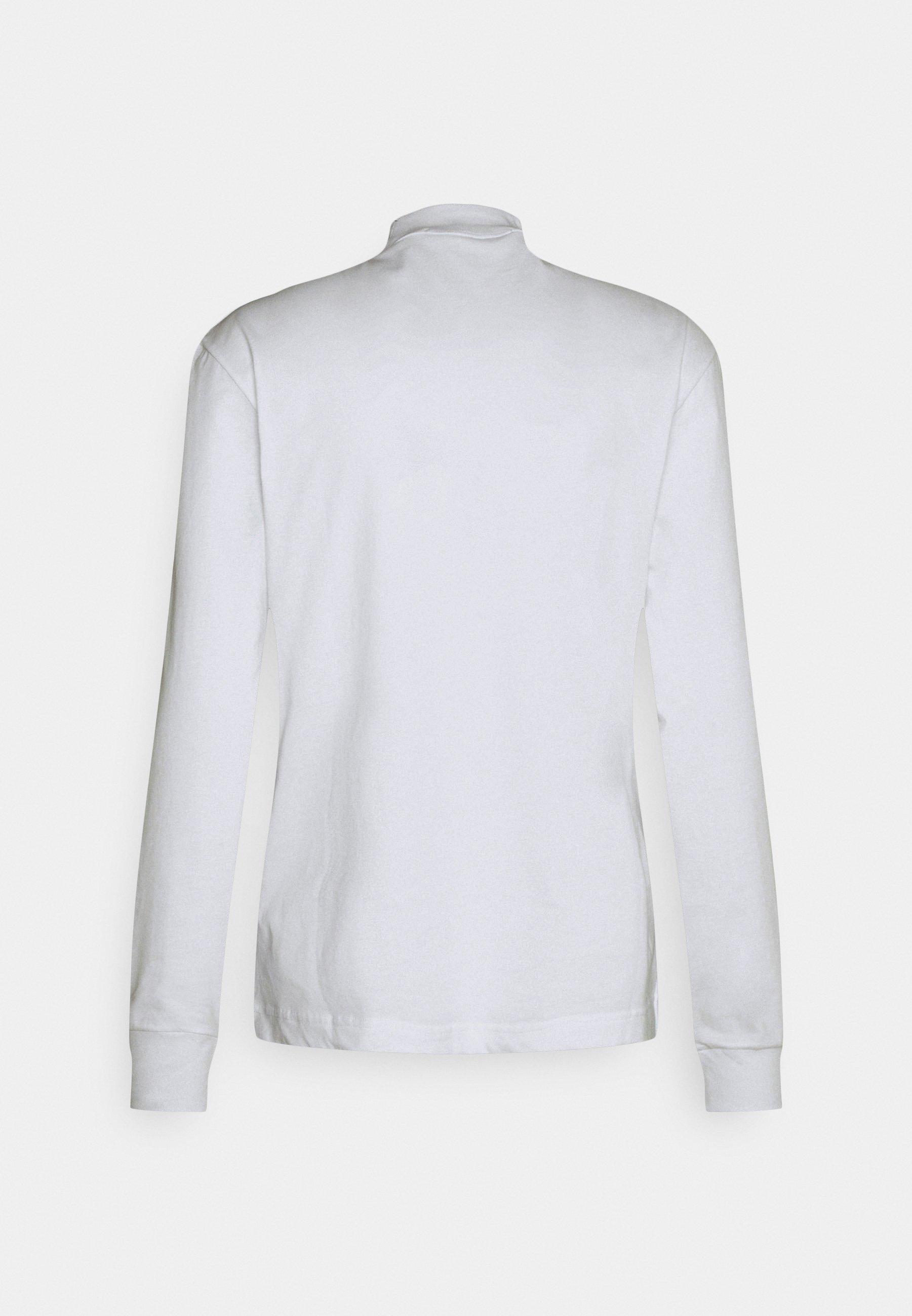 Men CENSORED MOCK NECK - Long sleeved top