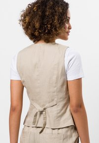 zero - Waistcoat - raw cotton - 2
