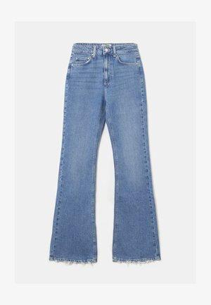 Flared Jeans - light blue