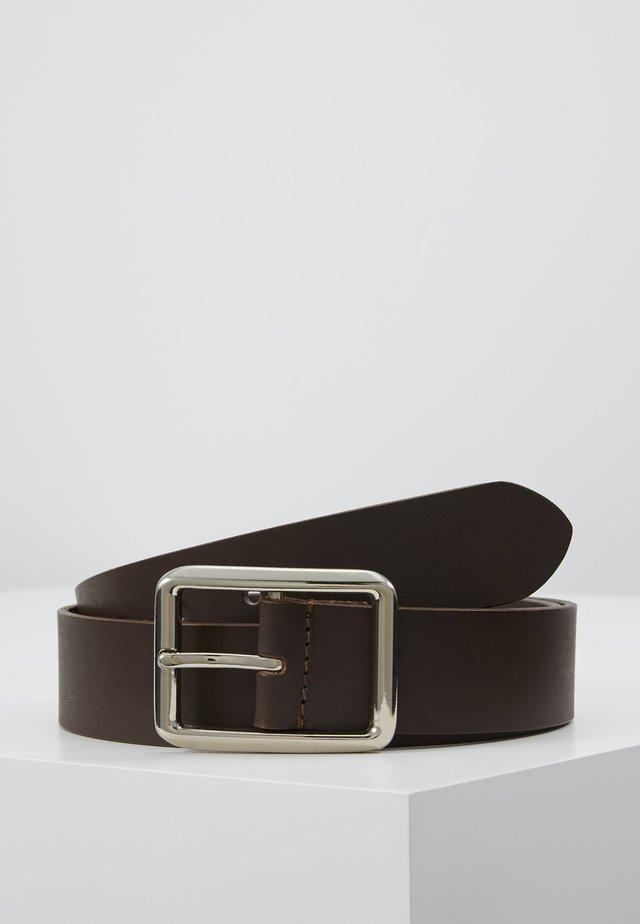 LEATHER - Riem - dark brown