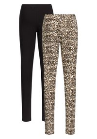 WE Fashion - 2 PACK - Leggings - multi coloured - 5