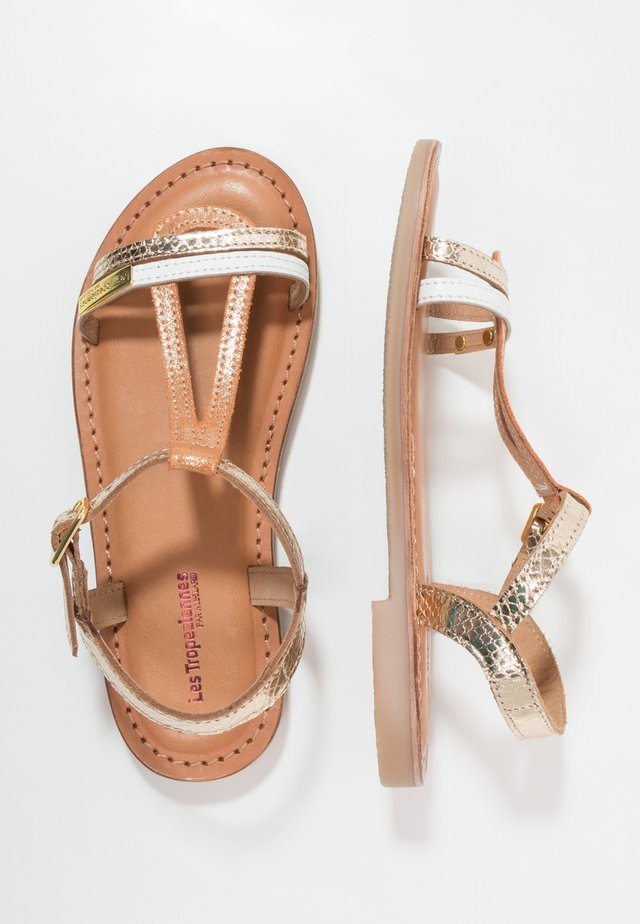 BADA - Sandals - oro/multicolor