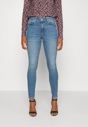 PCDELLY  - Jeansy Skinny Fit - light blue denim
