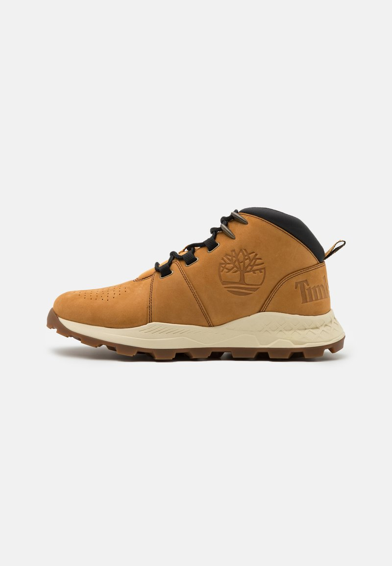 Timberland - BROOKLYN CITY MID - Sneakersy wysokie - wheat