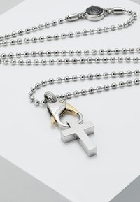 Diesel - SINGLE PENDANT - Necklace - gold-coloured/silver-coloured - 4