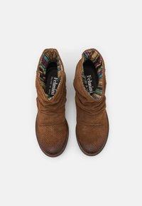 Felmini - CLASH - Cowboy/biker ankle boot - marvin brown - 5