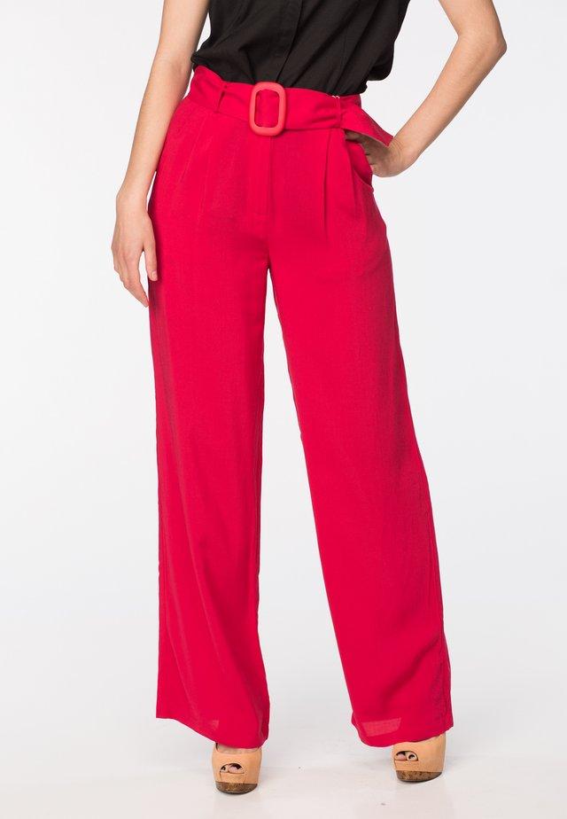 GRANDI - Pantalones - raspberry
