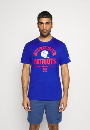 NFL NEW ENGLAND PATRIOTS HISTORIC TRI BLEND - T-shirt print - old royal
